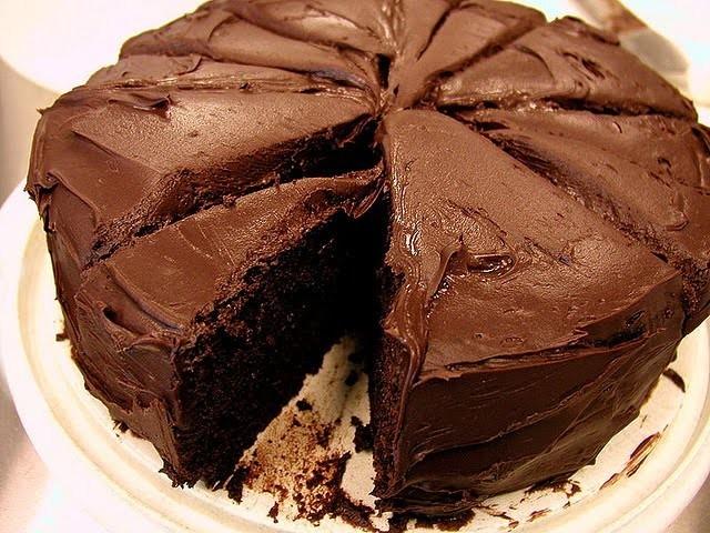 торт с нутеллой