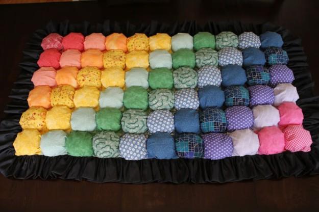 Что сделать из старого ватного одеяла