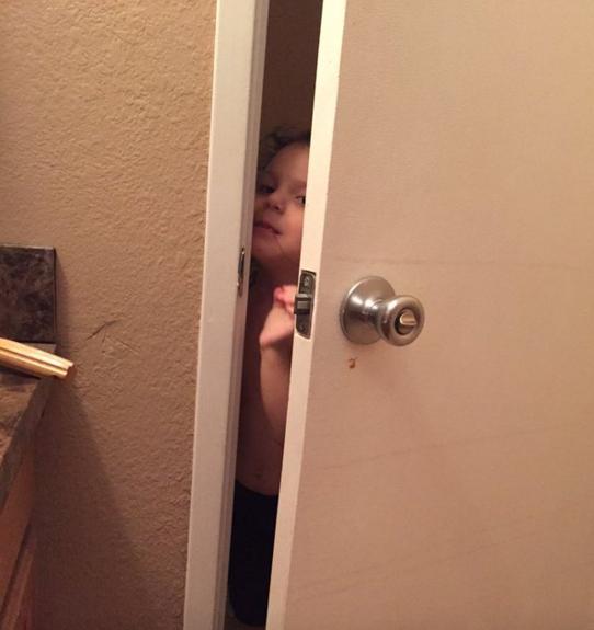 Мама, ты в туалете