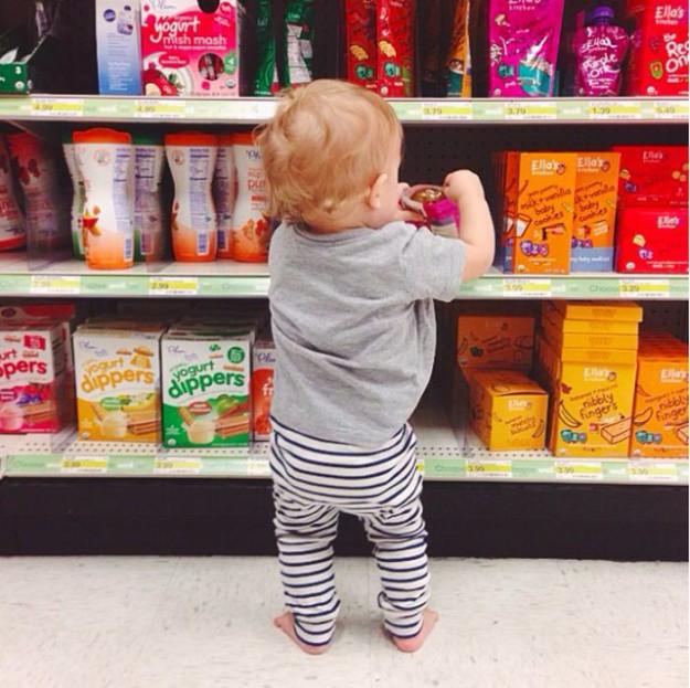 ...предпочетает органические продукты для малыша