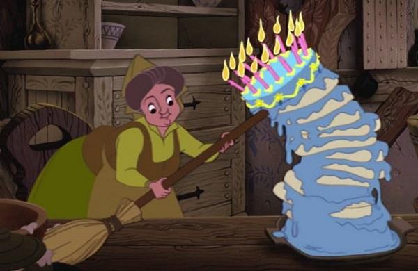 Даже самый высокий торт не завалится, если подпереть его метлой