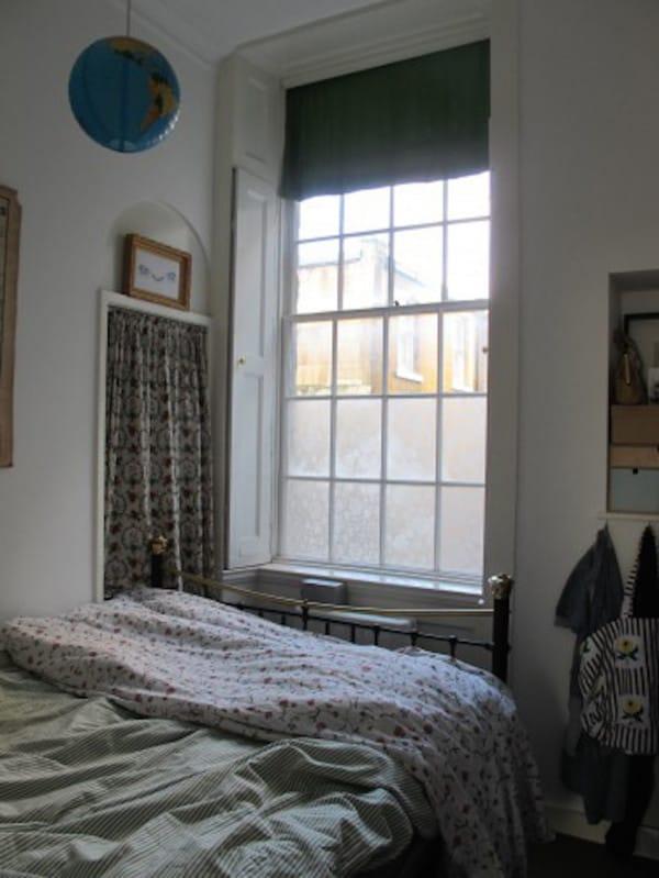 Кружевные стекла готовы! Очень нежно и красиво, особенно для спальни