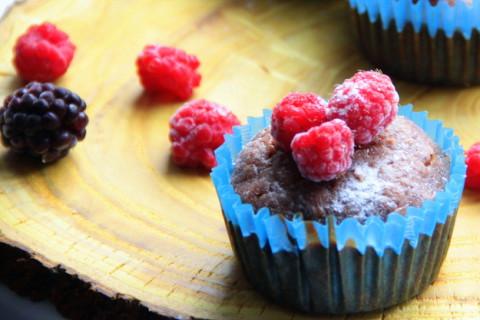 Рецепт необыкновенных шоколадных кексов с кабачком