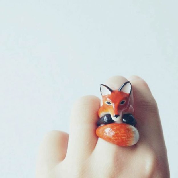кольцо лисичка2