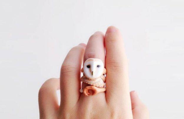 кольцо с совой2