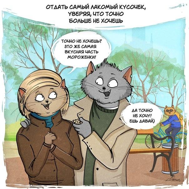 кошачьи рисунки