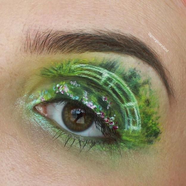 красота на глазах