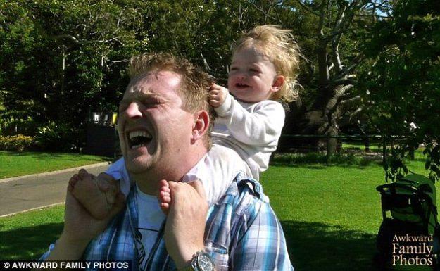 провальные фотографии пап и детей
