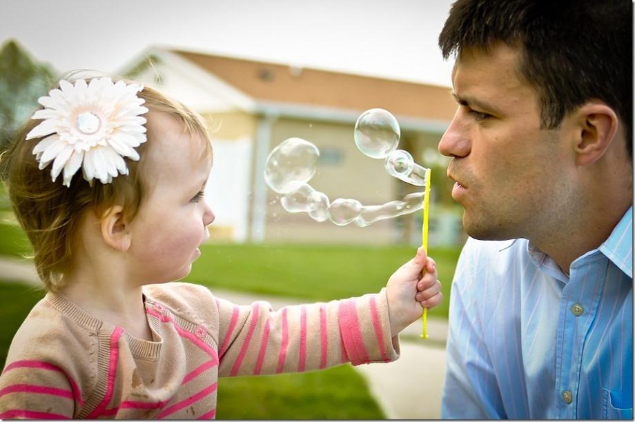 трогательное фото папа и дочь