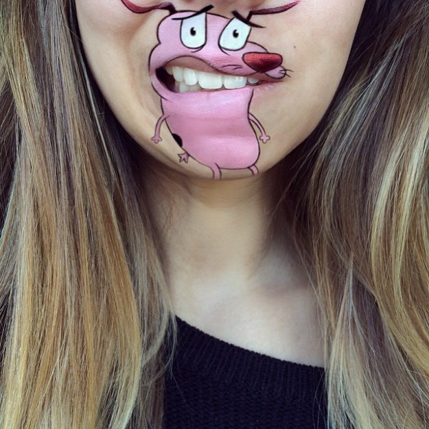 веселый макияж
