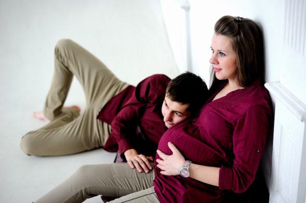 влюбленные ждут ребенка