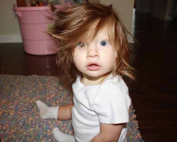 волосы в 10 месяцев