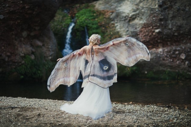 женщина бабочка