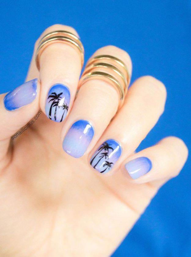 дизайн ногтей на лето