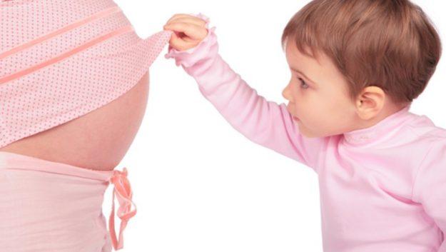 когда растет живот у беременных