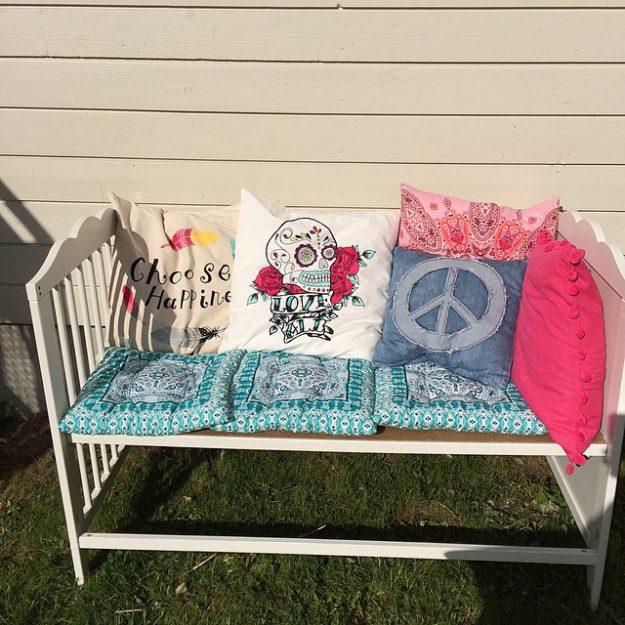 перевоплощение детской кроватки