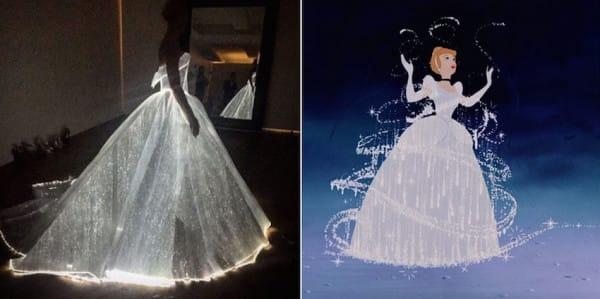 платье как у золушки