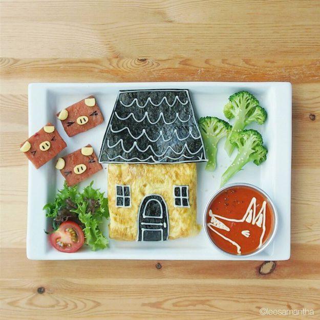 как вкусно подать еду для детей