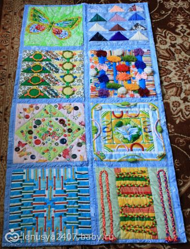 Массажные коврики своими руками для детей 31