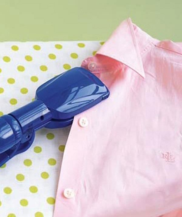 Утюжком можно прогладить рубашку в самых труднодоступных местах