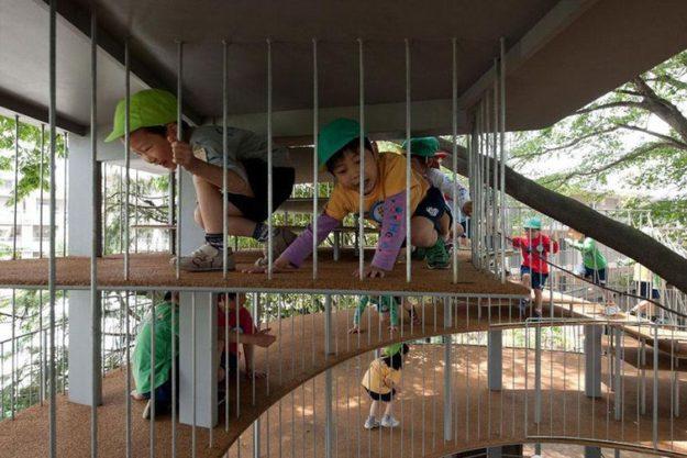 детский садик в японии