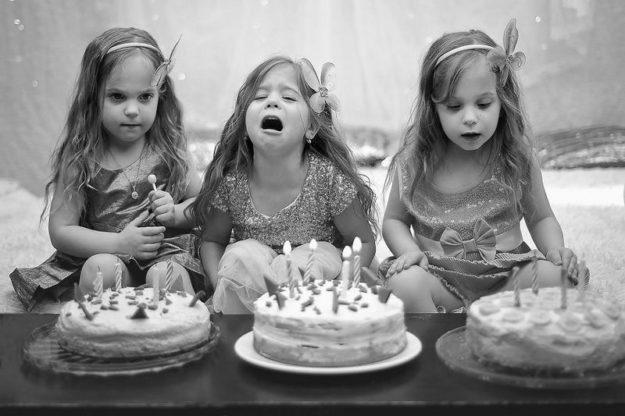 девочки-тройняшки