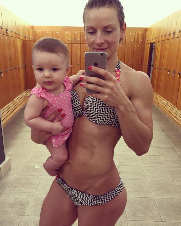 мама и фитнес
