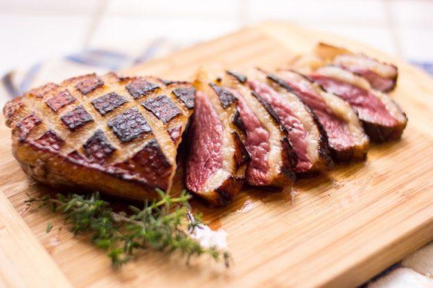 румяная корочка на мясе