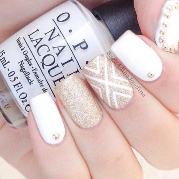белые лаки для ногтей