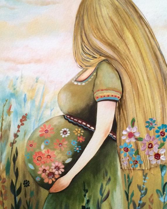 материнство, клаудия трембле
