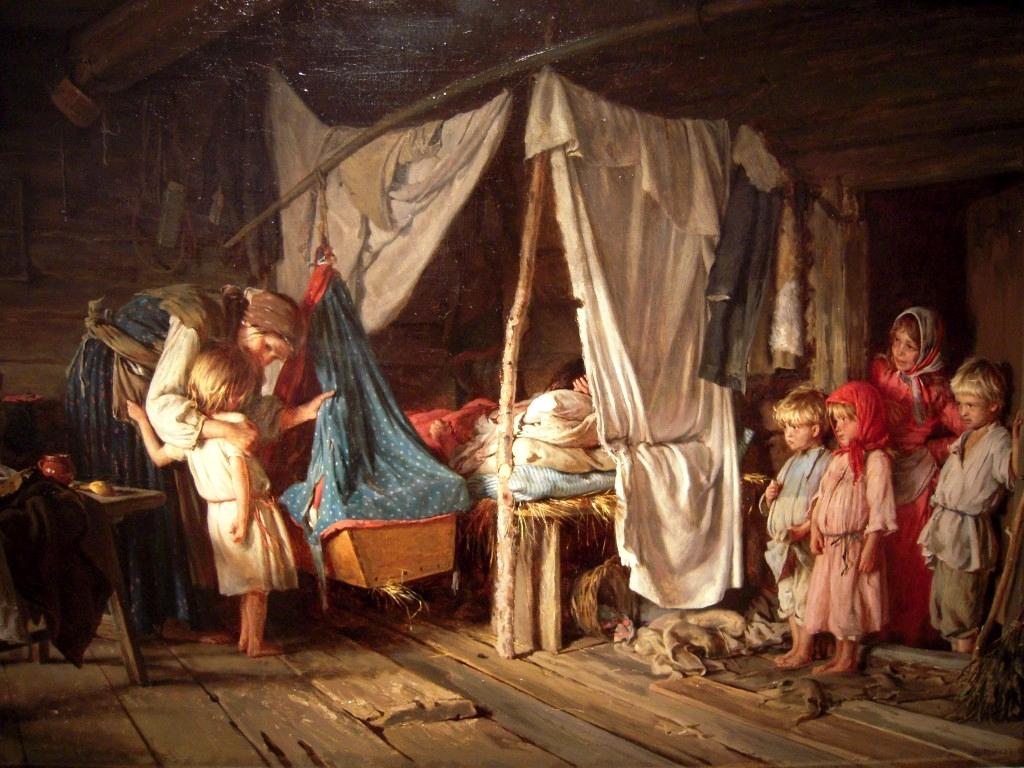 Картинки по запросу роды в 19 веке
