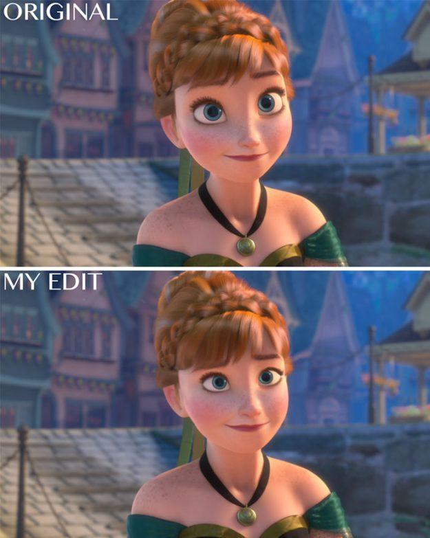Анна, Холодное сердце