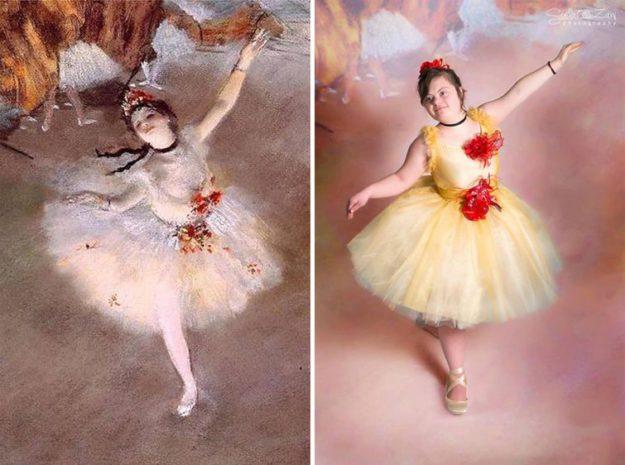 Балерина, Эдгар Дега