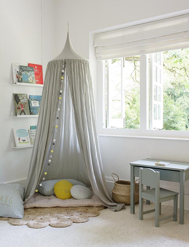 шатер в детской комнате