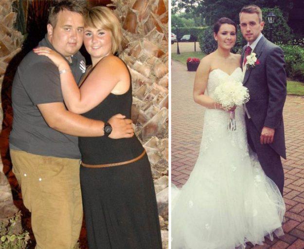 Эти двое к свадьбе избавились всего от 30 кг на двоих, а выглядеть стали в 100 раз круче