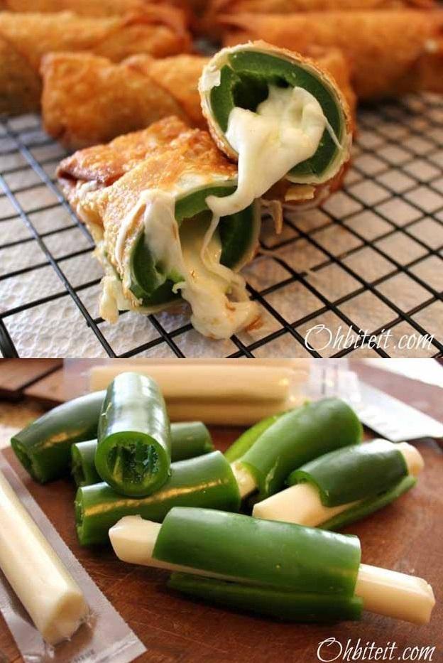 Хрустящие палочки с перцем и сыром