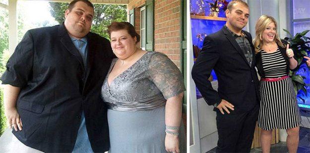 Ребята из Теннесси избавились от 224 кг на двоих
