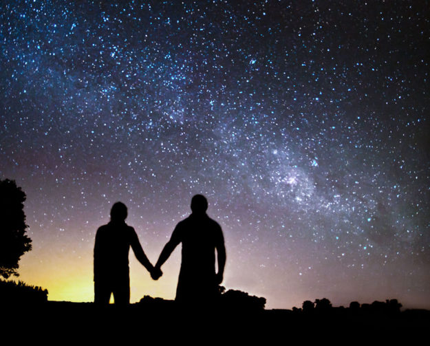 Выйдте на ночную прогулку под звездами