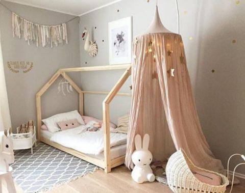Волшебный уголок в детской комнате