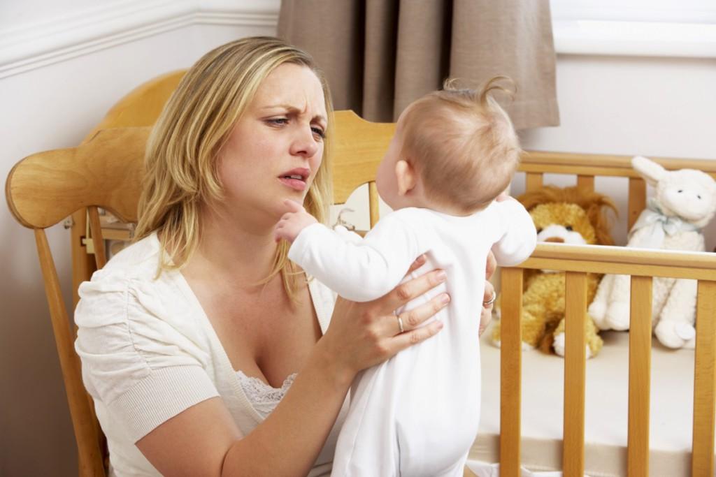 что происходит с родиетлями, когда ребенок плачет
