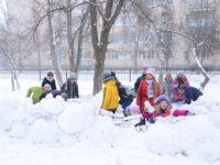 Активные зимние игры для детей