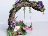 Здесь живут феи: идеи для миниатюрного сказочного сада в горшке