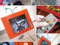 12 идей, как использовать обычную коробку для детских игр