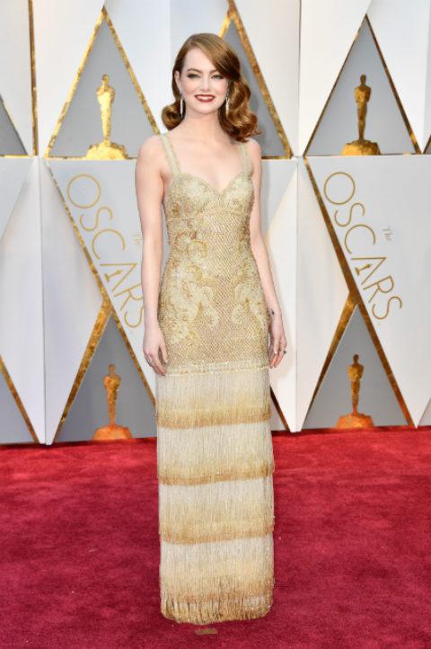 """Какими нарядами в этом году удивили публику голливудские актрисы на церемонии """"Оскар"""""""