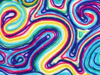 Необычный способ рисования без красок