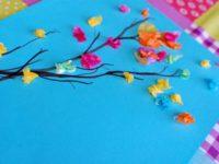 Художественные проекты: рисуем весенние деревья