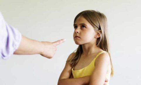 Можно сердиться и гневаться на ребенка, но не раздражаться
