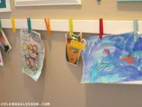 Как организовать домашнюю галерею детских рисунков