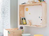4 оригинальные идеи для полочек в детской комнате