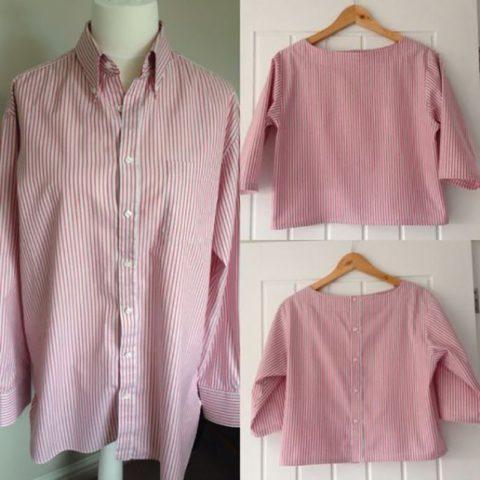 8 идей, как превратить старую мужскую рубашку в стильную женскую вещь